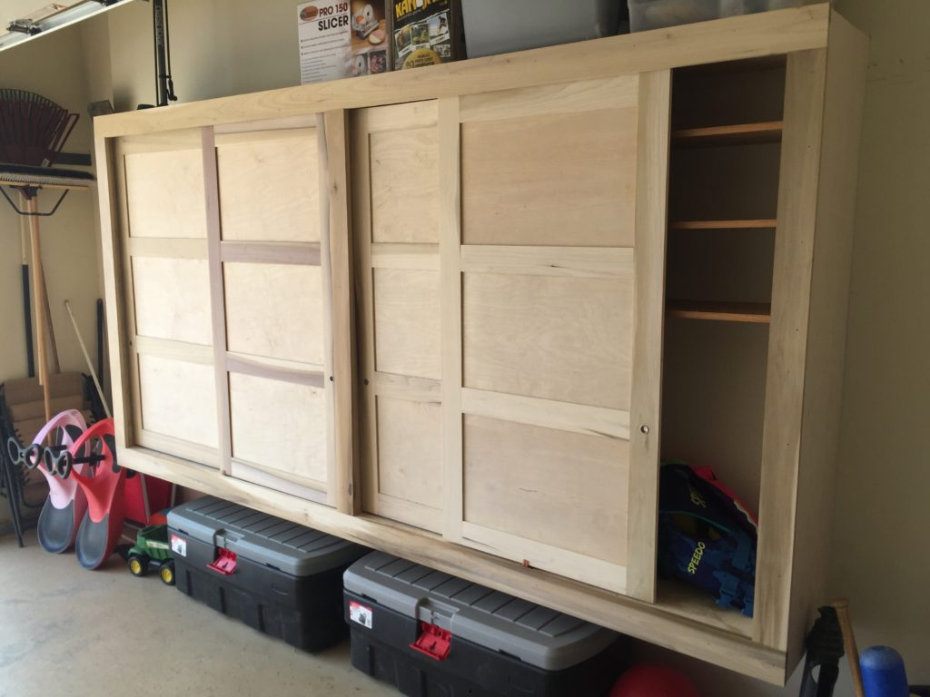 Built Storage Cabinets With Sliding Doors That Thing I Did